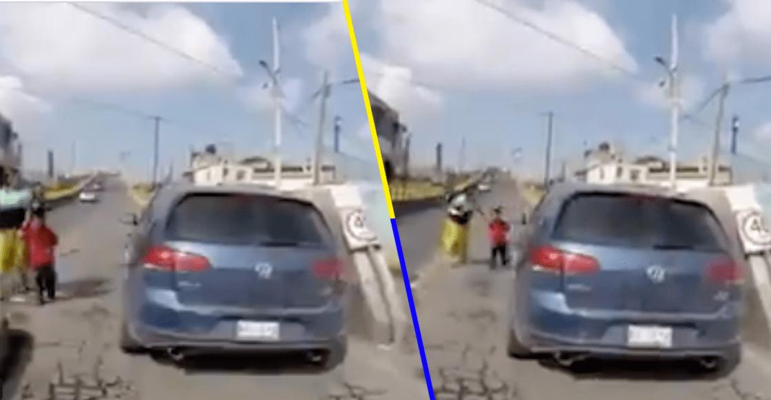 Automovilista atropella a niño y se da a la fuga en Valle de Chalco