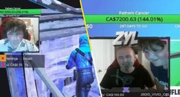 Lagrimita gamer: Este niño jugó 'Fortnite' 10 horas diarias para pagar el tratamiento de cáncer de su papá