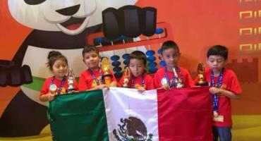 ¡Orgullo mexicano! 13 niños y niñas mexicanas ganan concurso de cálculo mental en China