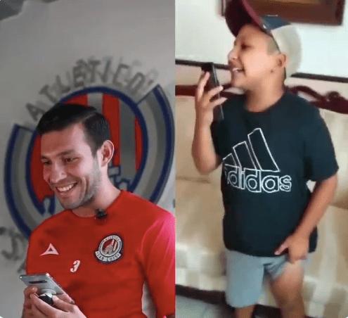 Atlético de San Luis sorprende al niño del protocolo de Liga MX