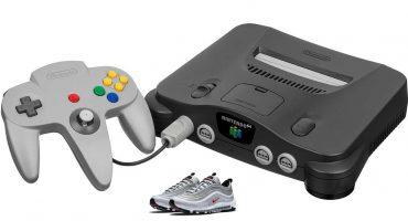 Nike podría sacar una colección de Air Max 97 inspirada en el Nintendo 64
