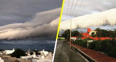 ¿Qué era la nube extraña que cubrió el cielo de Yucatán y causó pánico en los habitantes? 🤔