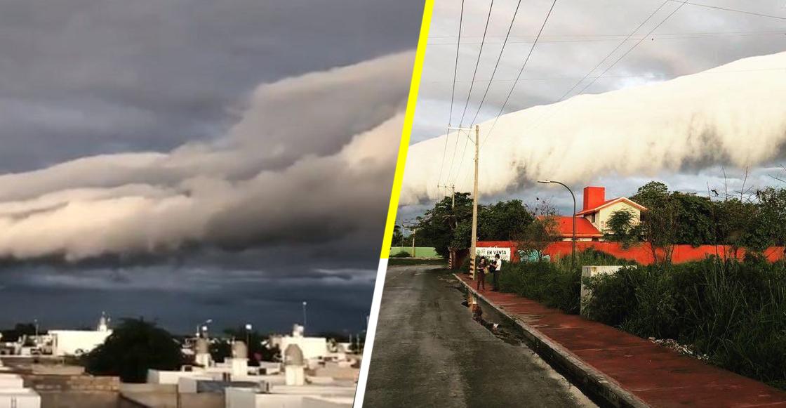 ¿Qué era la nube extraña que cubrió el cielo de Yucatán y causó pánico en los habitantes?