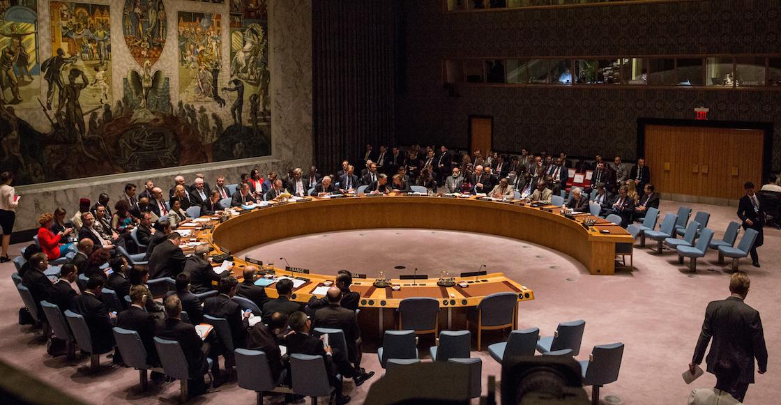 México, candidato al Consejo de Seguridad de ONU