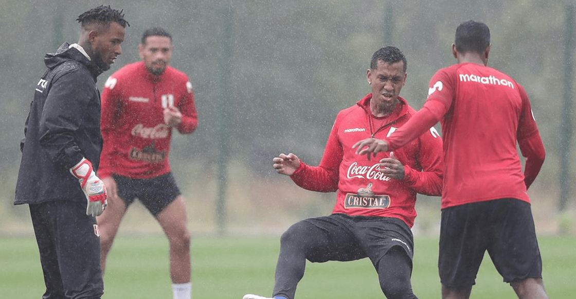 Fluminense estropea el entrenamiento de Perú a dos días de la Final contra Brasil