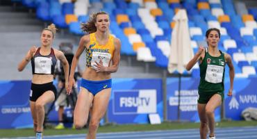 A nada de alcanzar a Ana Guevara: La corredora Paola Morán se lleva el oro en la Universiada Mundial