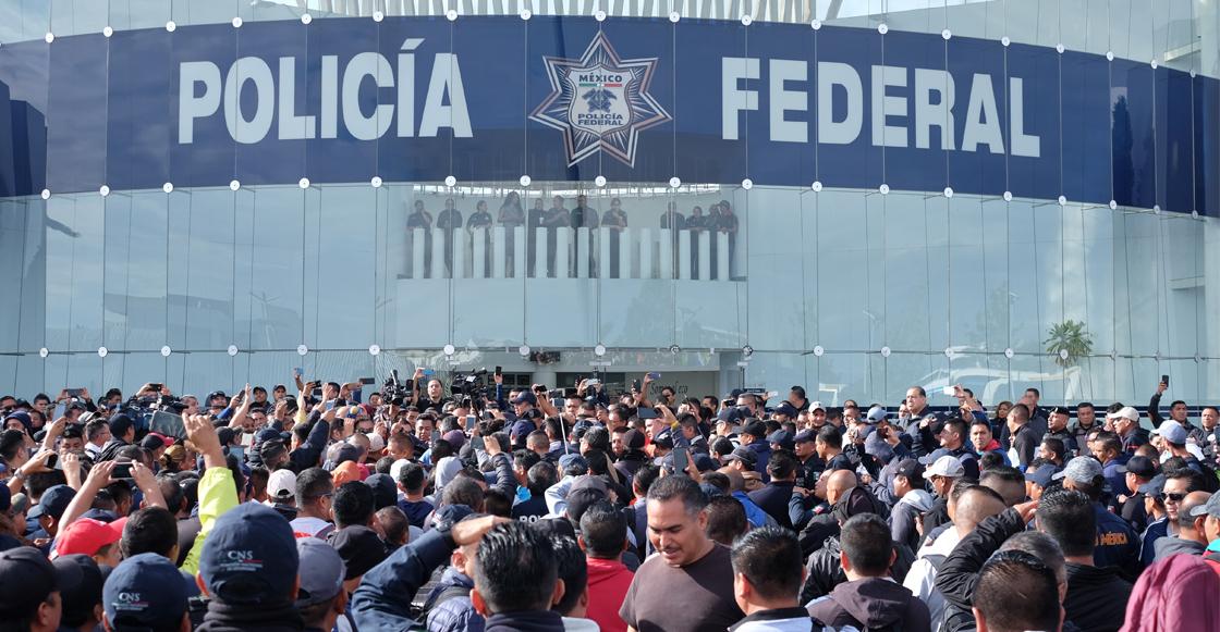 ¡Abusados! Policías Federales convocan a paro nacional para mañana, 4 de julio