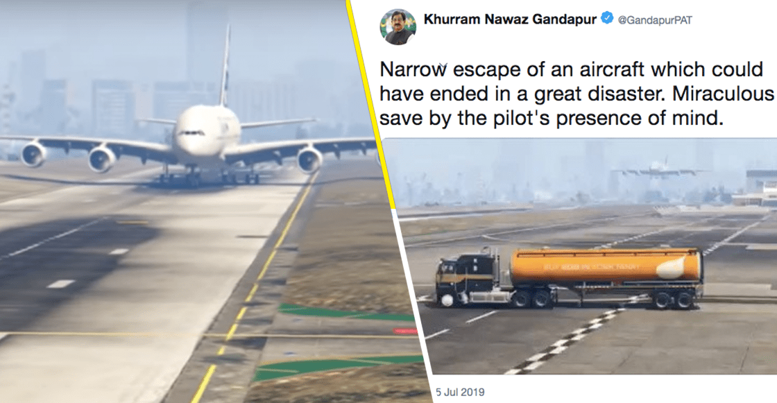 Y en la nota idiota del día: Un político paquistaní pensó que un video de 'Grand Theft Auto' era real