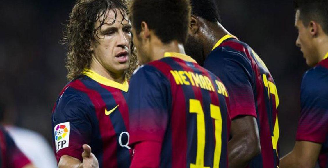 Puyol aprobó el regreso de Neymar: