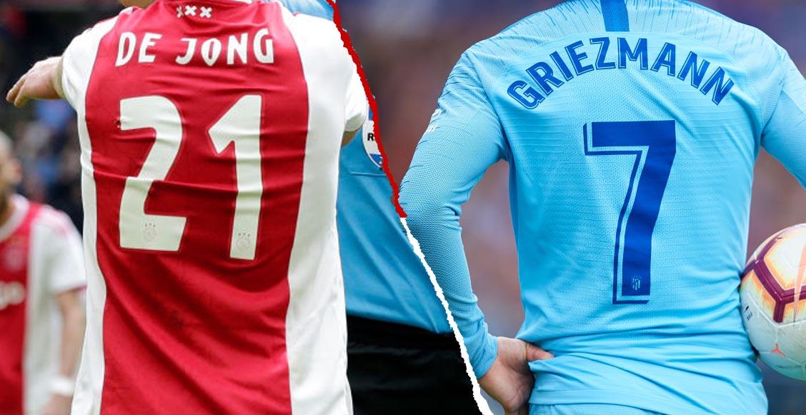 ¿Qué dorsal utilizará Griezmann y De Jong en el Barcelona?