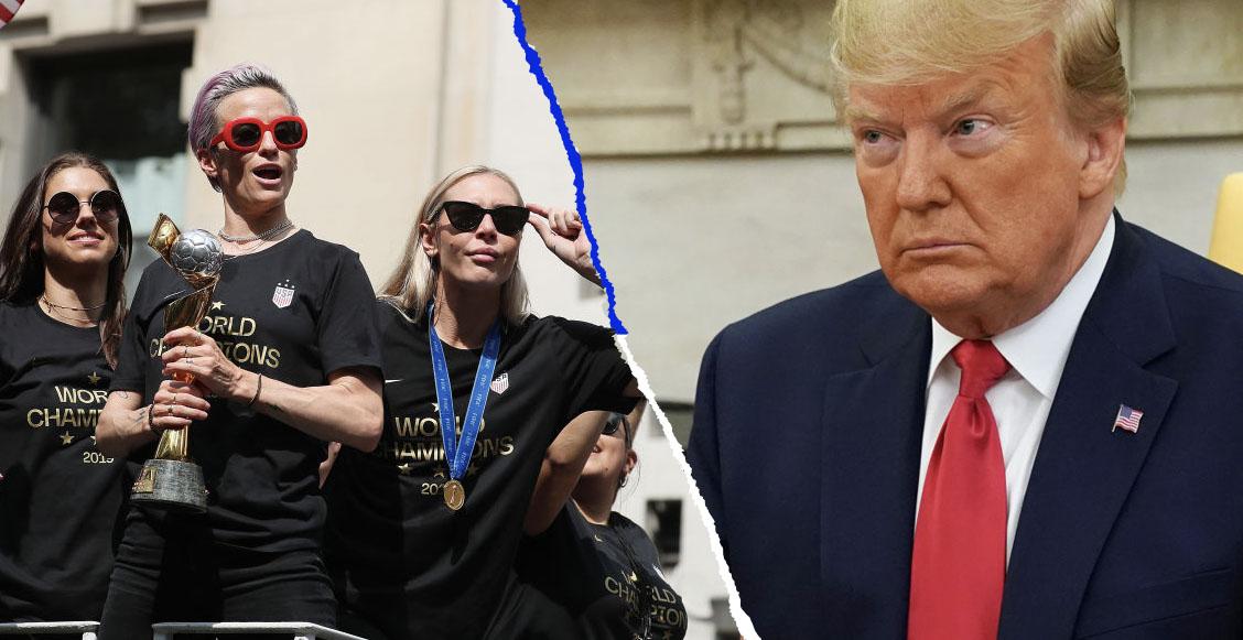 Rapinoe reitera que ninguna seleccionada irá a la Casa Blanca para