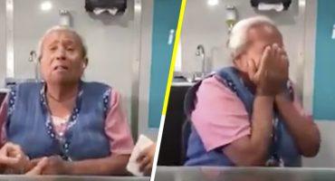 La hermosa reacción de una señora de la tercera edad al poder oír otra vez ❤️