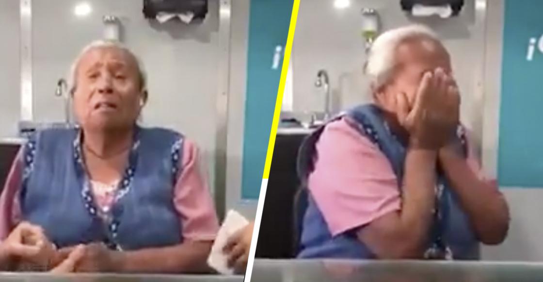 La hermosa reacción de una señora de la tercera edad al poder oír otra vez