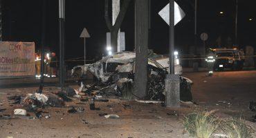 Otorgan libertad condicional a conductor de BMW que se estrelló en Reforma