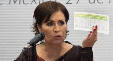 Rosario Robles solicita a diputados desechar juicio político en su contra