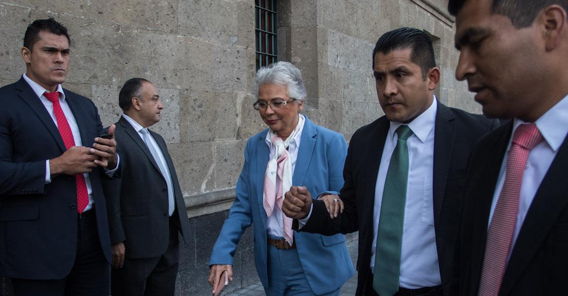 ¿Cómo? Sánchez Cordero dice que ampliación de mandato es inconstitucional pero lo respeta
