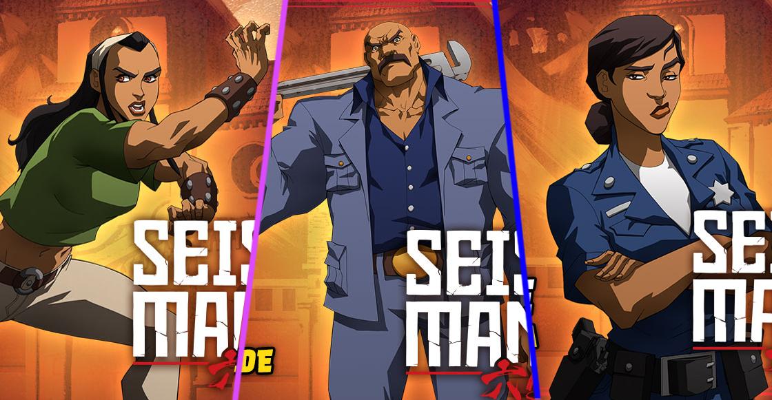 'Seis manos', el primer anime producido por Netflix inspirado en México