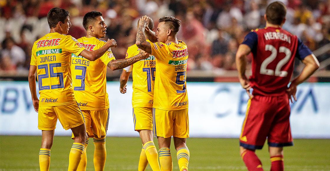 Tigres despacha al Real Salt Lake y así se jugarán las Semifinales de la Leagues Cup