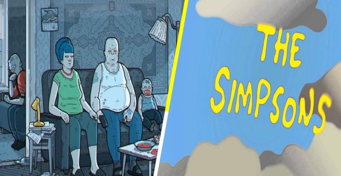 La intro de Los Simpson versión rusa, es tan obscura y deprimente