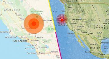 Un sismo de 6.4 grados sacudió el sur de California, en Estados Unidos