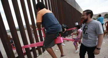 Noticias bonitas: Instalan 'sube y baja' en la frontera de Estados Unidos y México