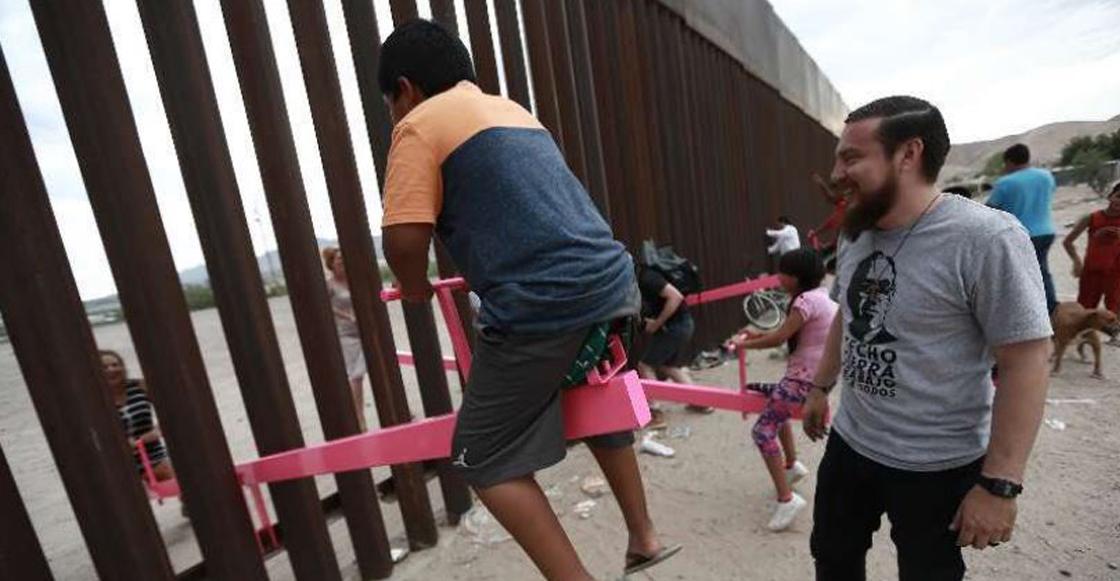 Instalan 'sube y baja' en la frontera de Estados Unidos y México