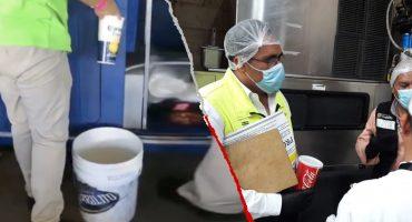 Suspendieron la 'tiendita' que vendía 'cerveza sucia' en el estadio de Santos