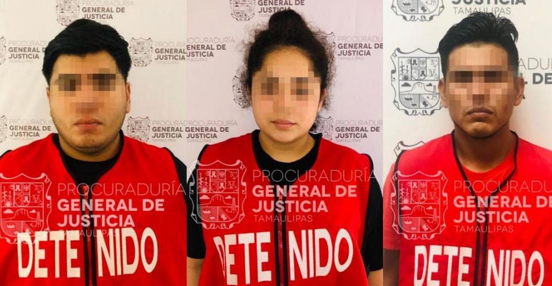 Detienen en Tamaulipas a tres por el secuestro de un estudiante