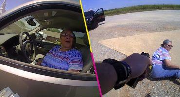 Mi abuela es un peligro: Mujer de edad avanzada recibe electrochoque por resistirse a multa