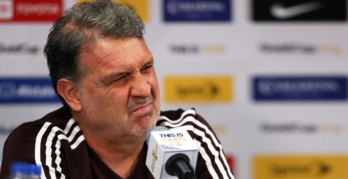 """""""Si perdemos la Copa Oro, no pasa nada"""" 'Tata' Martino se alista para cualquier escenario"""