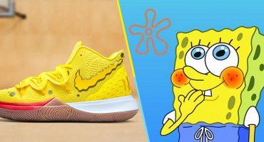 ¡Sí capitán, estamos listos! Nike lanza línea especial inspirada en Bob Esponja 🍍👟