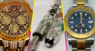 Dijes de San Juditas, la Santa Muerte y relojes: Estas son las joyas que se subastarán en Los Pinos