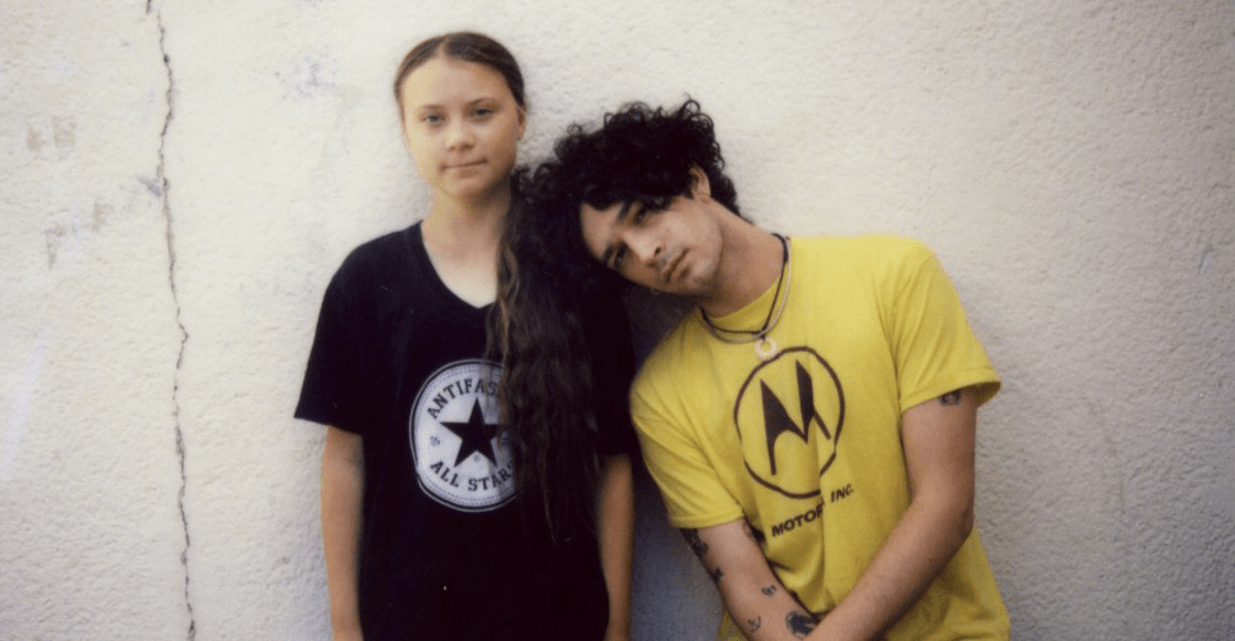 ¡Están de vuelta! The 1975 estrena una nueva canción con la activista Greta Thunberg
