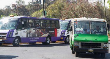 Ahora los operadores de transporte público y privado en CDMX deberán registrarse: Semovi