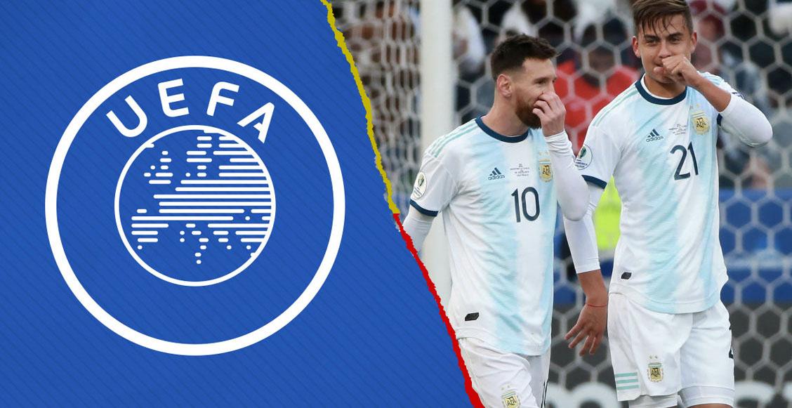 UEFA aclara que Argentina NO jugará en ninguno de sus torneos