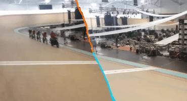 La SEV prepara cena-baile en Velódromo durante el entrenamiento de la Selección de ciclismo