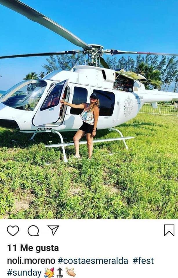 veracruz-funcionaria-helicoptero-gobierno-viaje-playa-instagram-02
