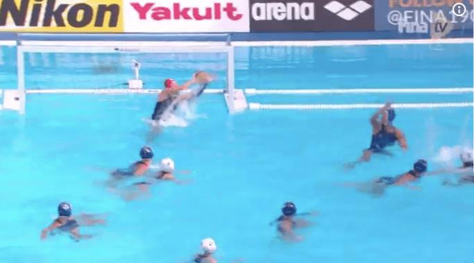 Corea del Sur perdió 30-1 en waterpolo pero lloraron de alegría por su único gol