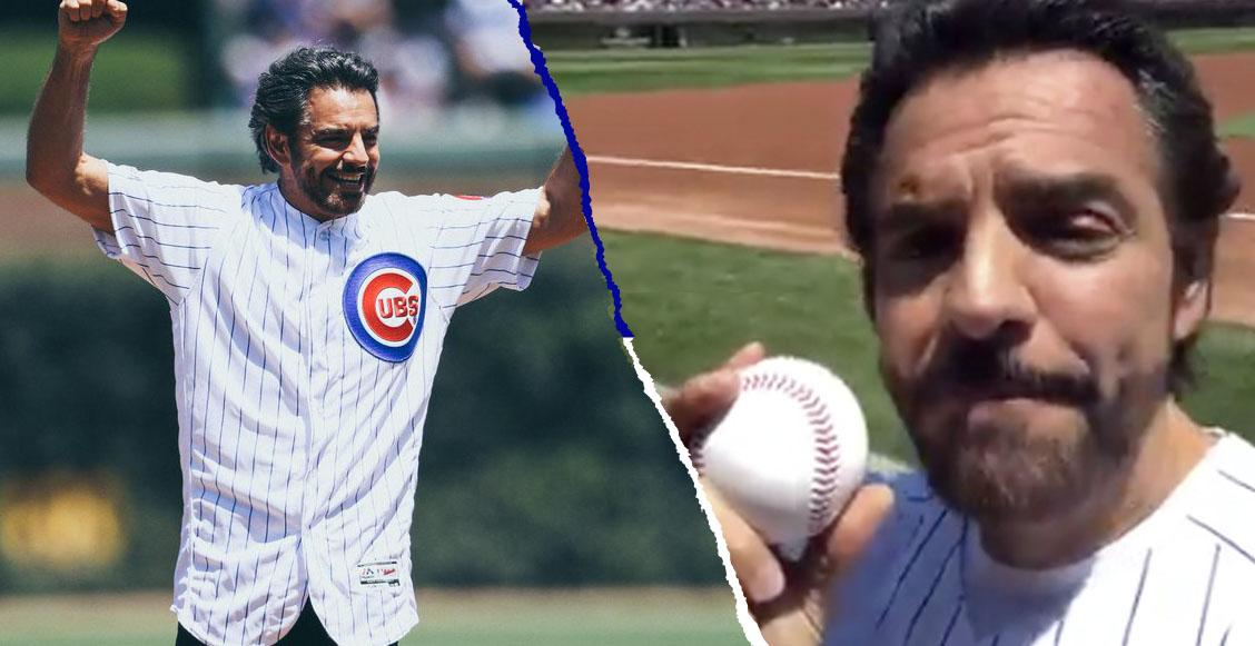 Eugenio Derbez le cambió el nombre al estadio de los Cubs y fans se lo 'comen vivo'