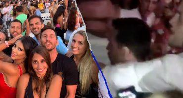 Hombre agredió a Lionel Messi en una discoteca de Ibiza