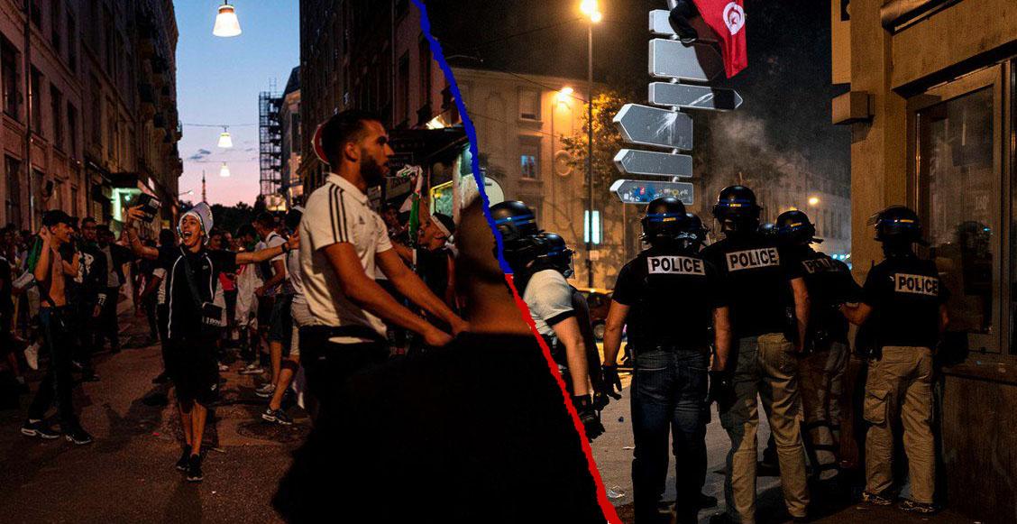 Caos y más de 200 detenidos: Así vivió Argelia su pase a la final de la Copa Africana