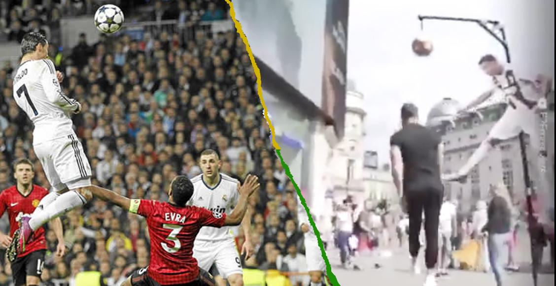 ¿Tú podrías? El reto 'imposible' que te paga por superar a Cristiano Ronaldo