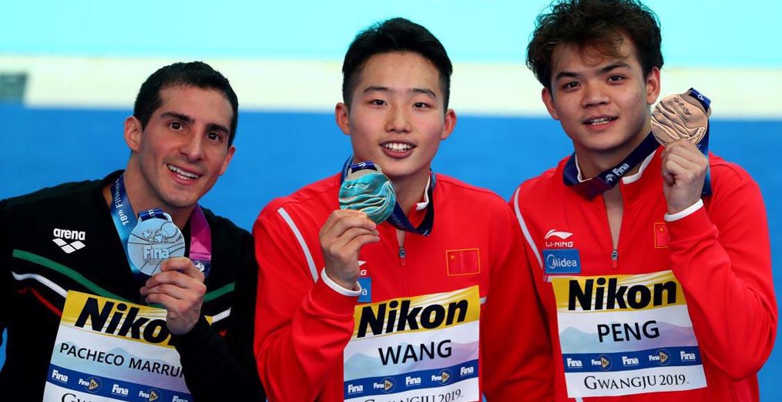 ¡Rommel Pacheco consiguió medalla de plata en el Campeonato Mundial Gwangju 2019!
