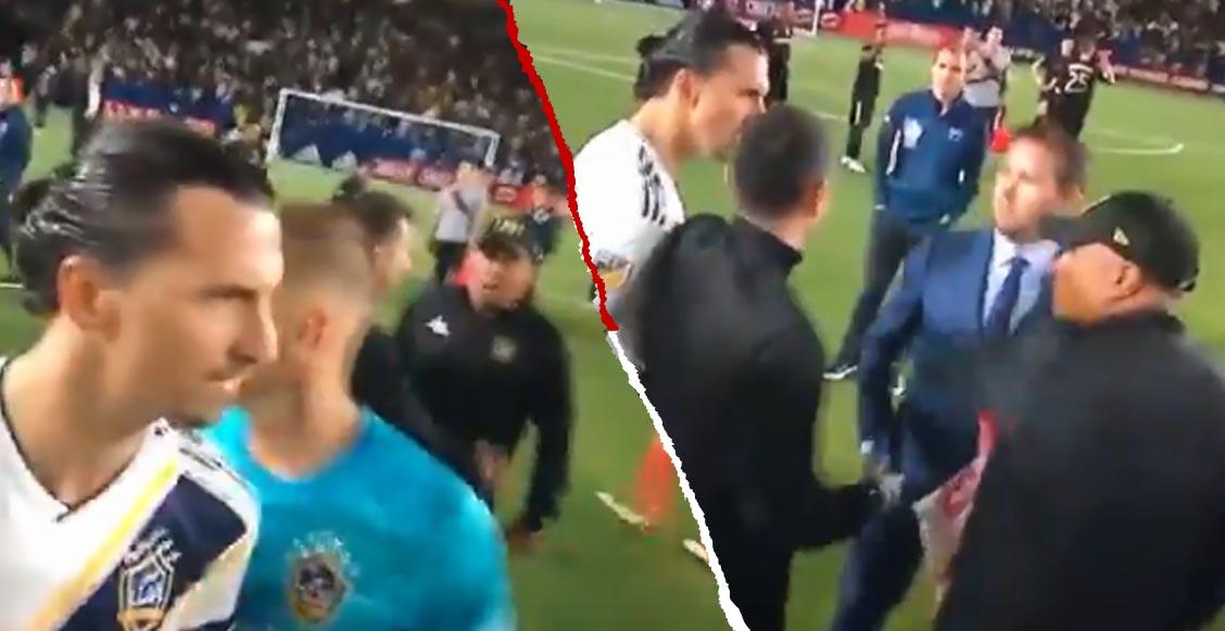"""Zlatan explotó contra miembro del LA FC: """"Vete a casa, pequeña put…"""""""