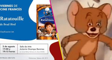 ¿Viernes de Cine Francés? Secretaría de Cultura de Tabasco presenta 'Ratatouille'