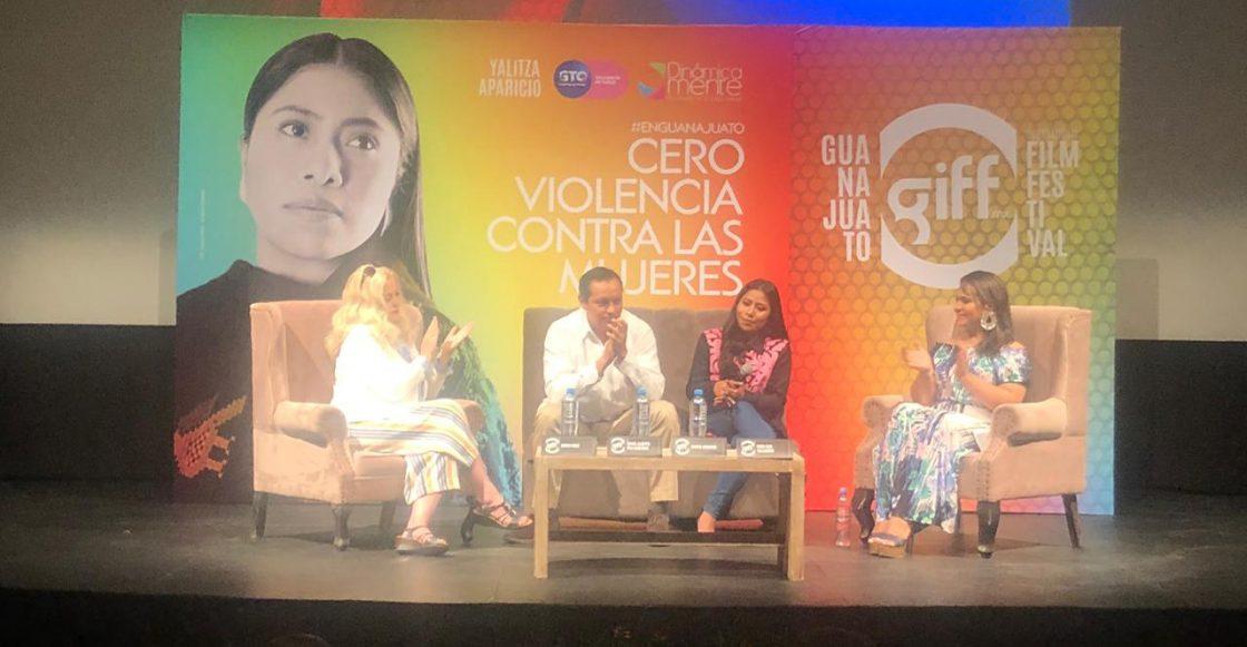 Yalitza y el GIFF 2019 presentan campaña en contra de la violencia de género