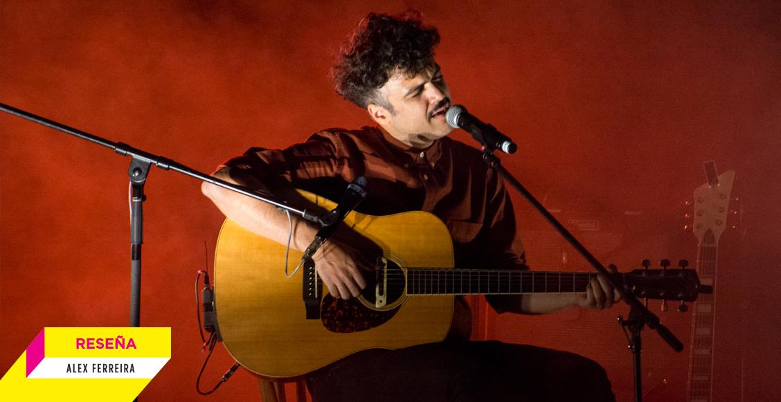 El inolvidable concierto de Alex Ferreira en el Teatro Esperanza Iris