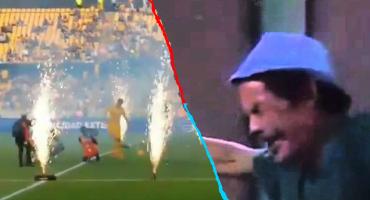 ¡Ah no bueno! Así fue el OSOTE de Diego Reyes en su presentación con Tigres