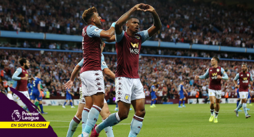 Aston Villa derrotó al Everton y rompió sequía de 3 años en la Premier League
