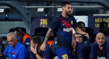 ¿Cuándo volverá a jugar Messi con el Barcelona?
